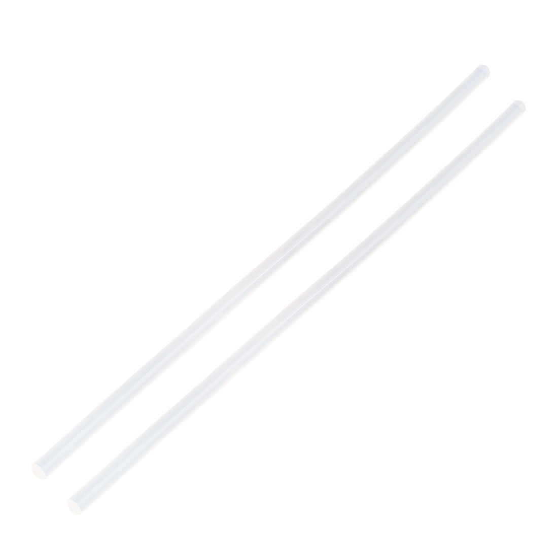 2 Pcs 7mm x 300mm Hot Melt Glue Adhesive Stick Clear for Electric Tool Heating Gun