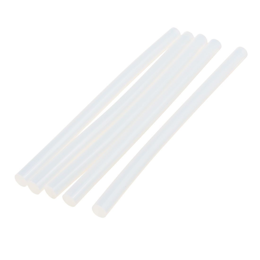 5 Pcs 11mm x 200mm Hot Melt Glue Adhesive Stick Clear for Electric Tool Heating Gun