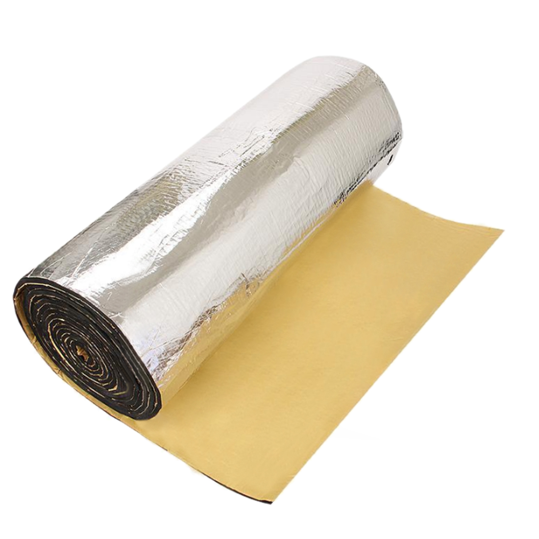 197mil 6.46sqft Car Heat Sound Deadener Dampening Mat - Intensive Aluminum Face