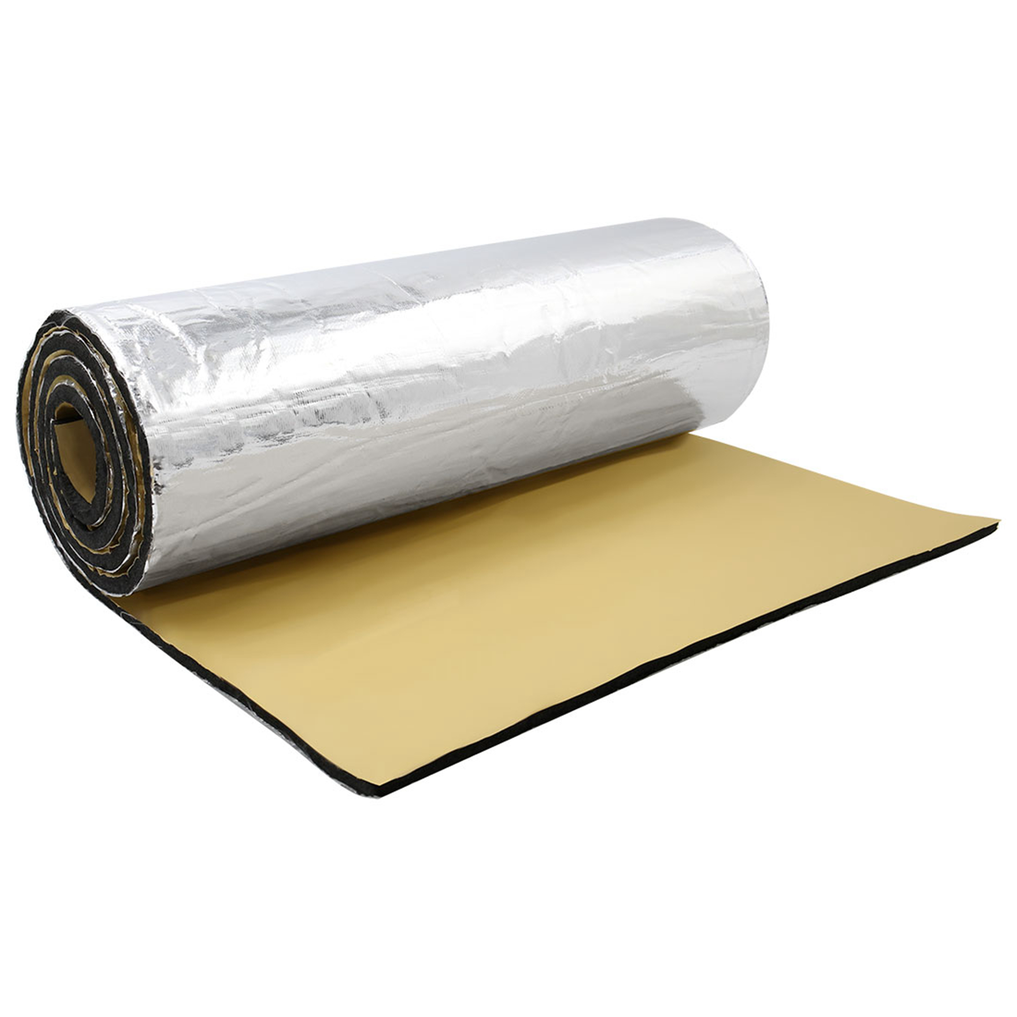 "197mil 10.76sqft Car Acoustic Barrier Heat Sound Absorption Deadener Mat 40""x40"""