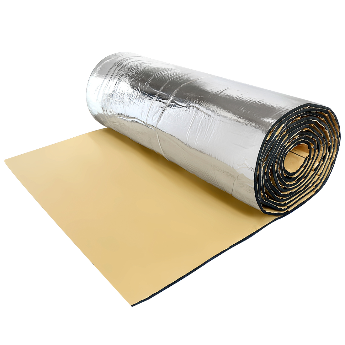 394mil 10mm 16.36sqft Car Heat Sound Absorption Deadener Insulation Mat Liner