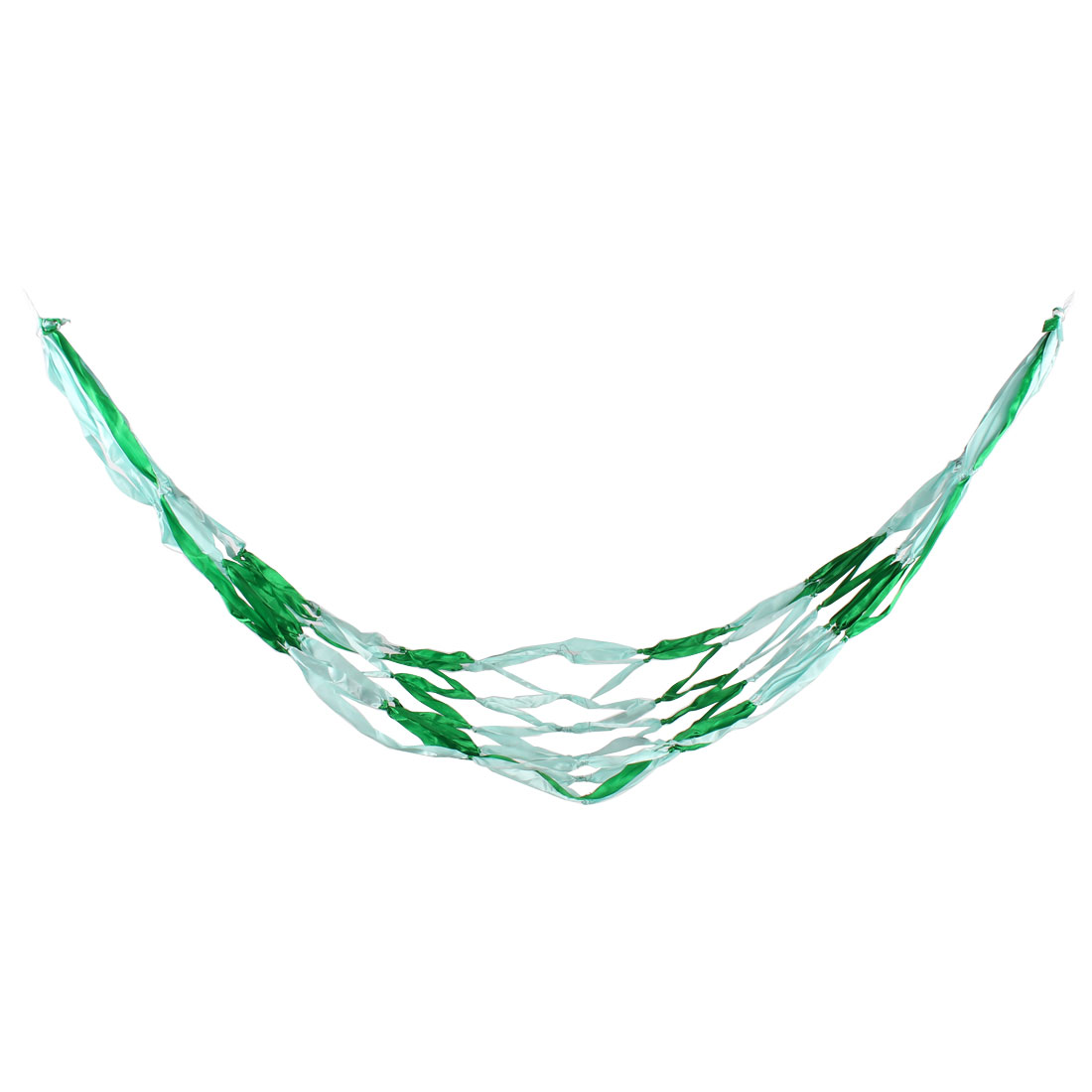 Home Camping Leisure Outfitter Netty Meshy Hanging Bed Hammock Blue Green