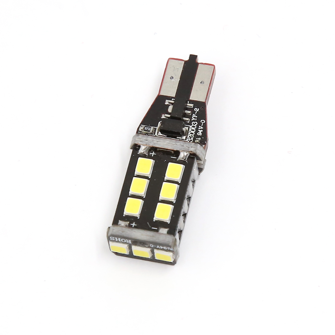 Car 15 SMD DC 12V W16W 912 147 T15 Wedge White Backup LED Light Lamp Bulb