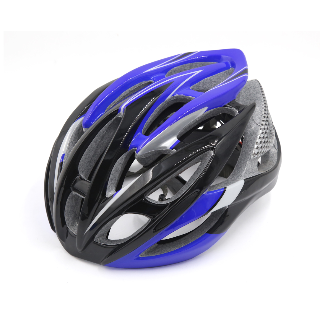 Blue Black 26 Vents EPS Adjusable Unisex Adult Helmet for Bike Bicycle Cycling