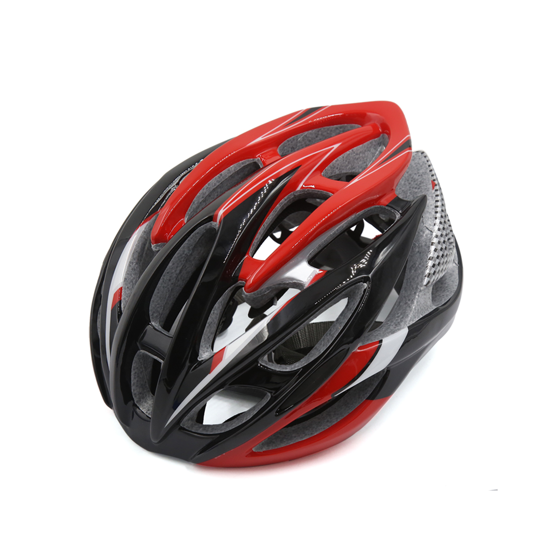 Red Black 26 Vents EPS Adjusable Unisex Adult Helmet for Bike Bicycle Cycling