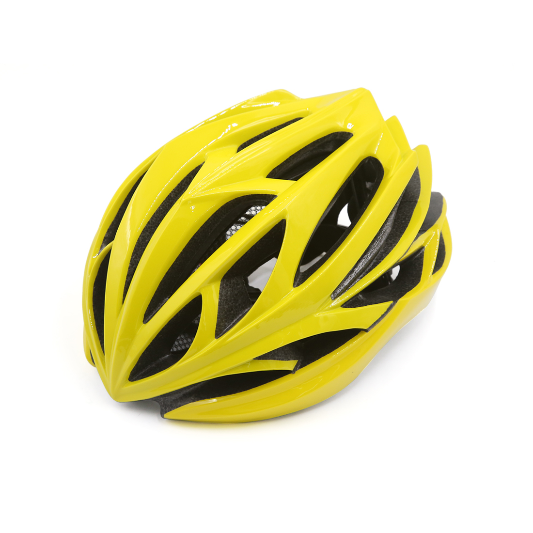 Unisex Adult MTB Mountain Bike Bicycle Cycling Shockproof Safety Helmet Yellow