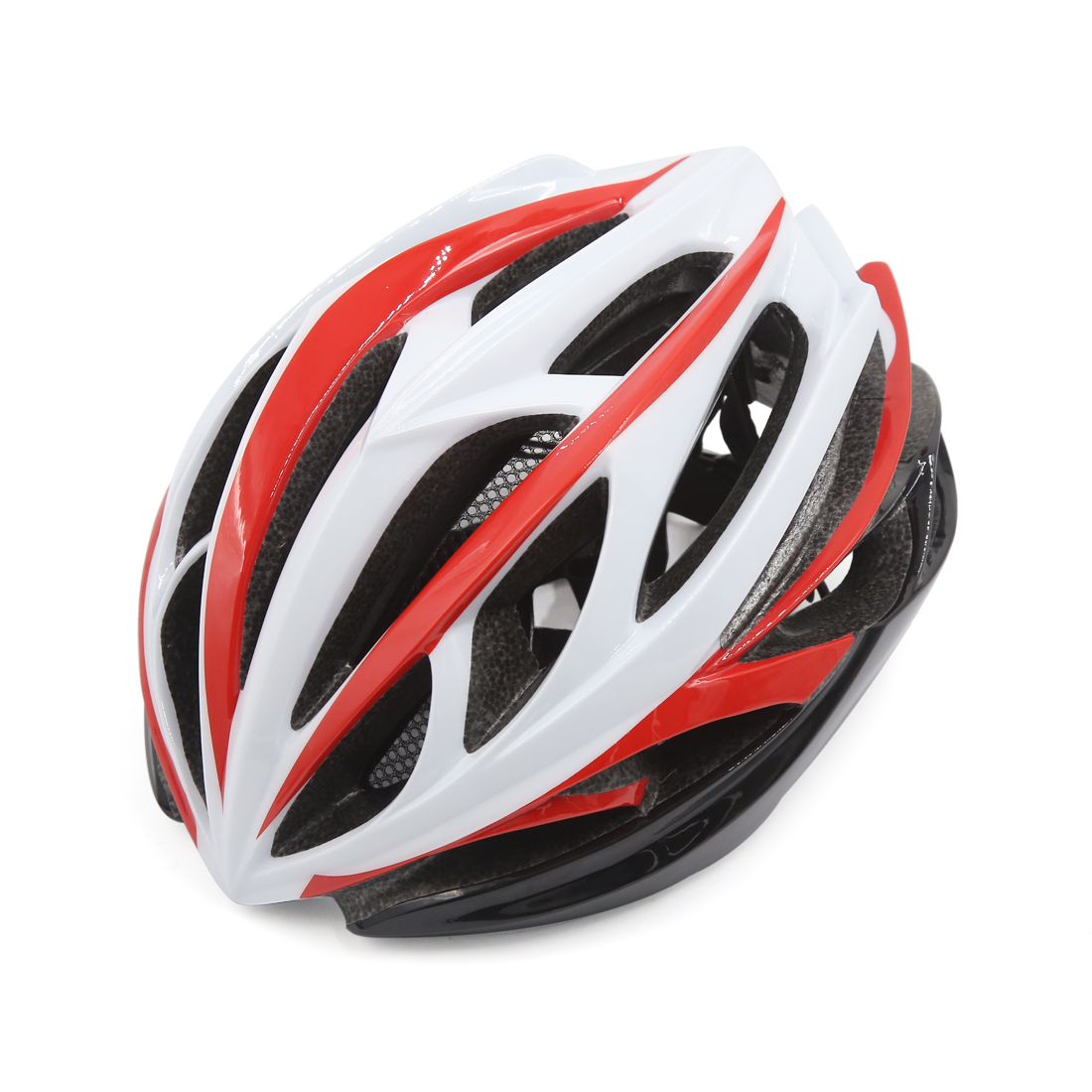 Unisex Adult MTB Mountain Bike Bicycle Cycling Shockproof Helmet Red White Black