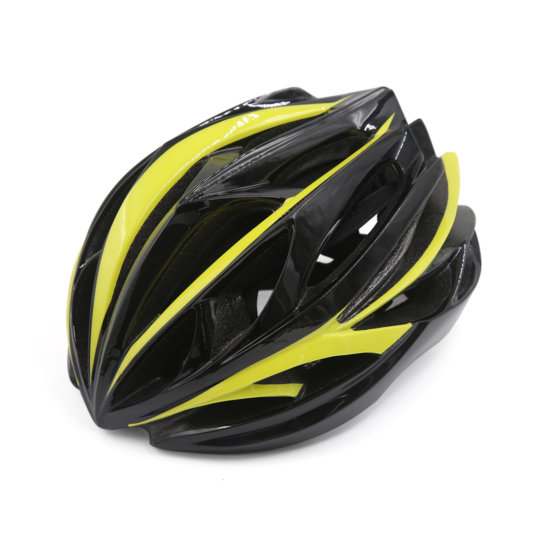 Unisex Adult MTB Mountain Bike Bicycle Cycling Shockproof Helmet Black Yellow