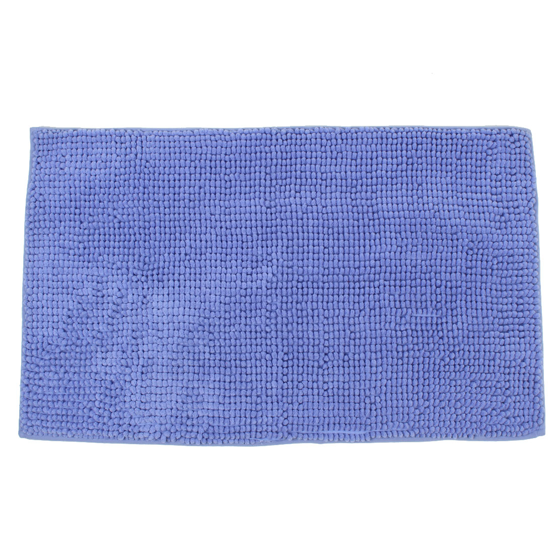 Bathroom Household Soft Non Slip Absorbent Shower Bath Mat Rugs Blue 20 x 32 Inch