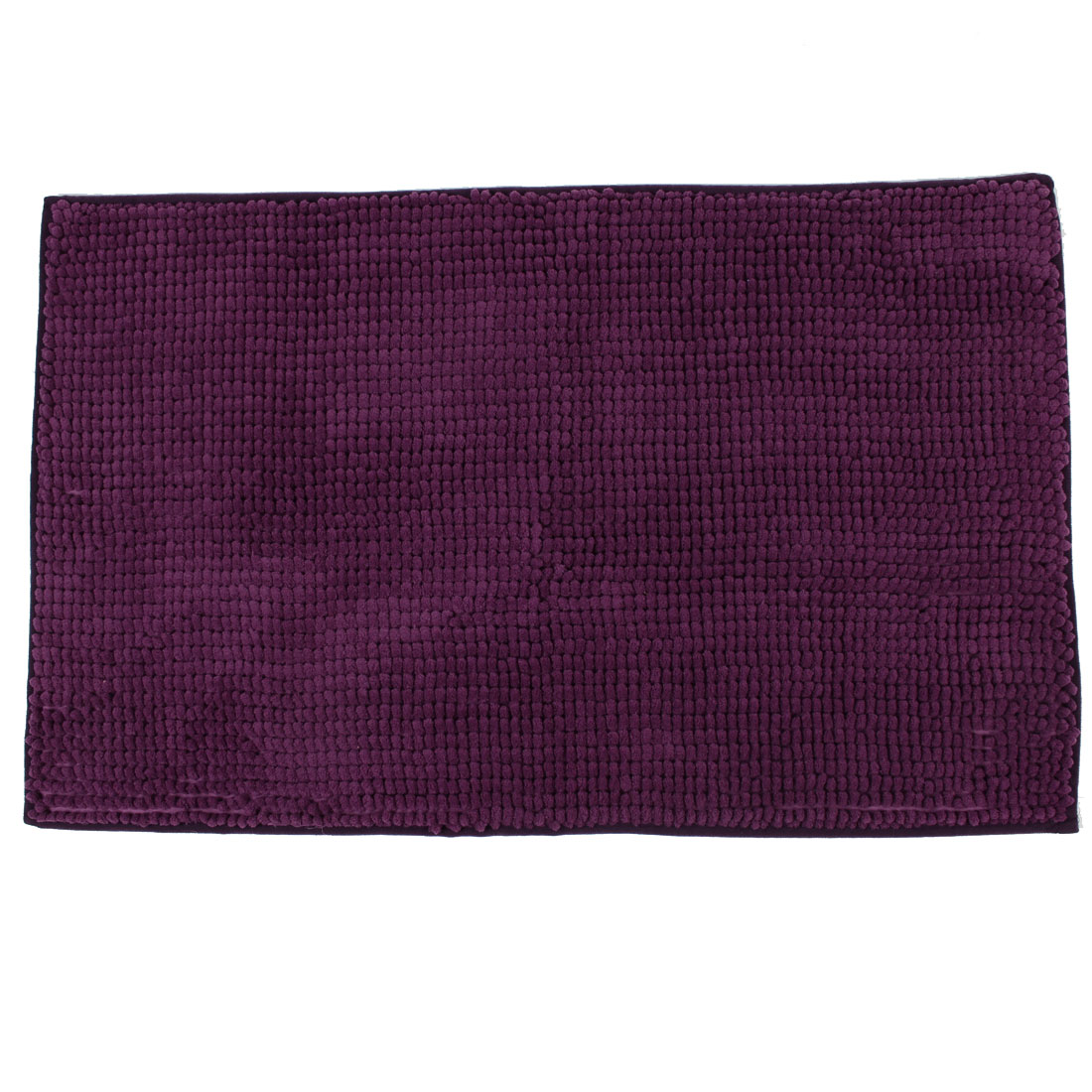 Hotel Bathroom Household Soft Non Slip Absorbent Shower Bath Mat Rugs Purple 20 x 32 Inch