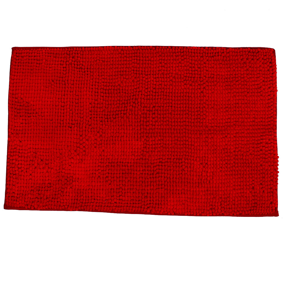 Hotel Bathroom HouseSoft Non Slip Absorbent Shower Bath Mat Rugs Red 20 x 32 Inch