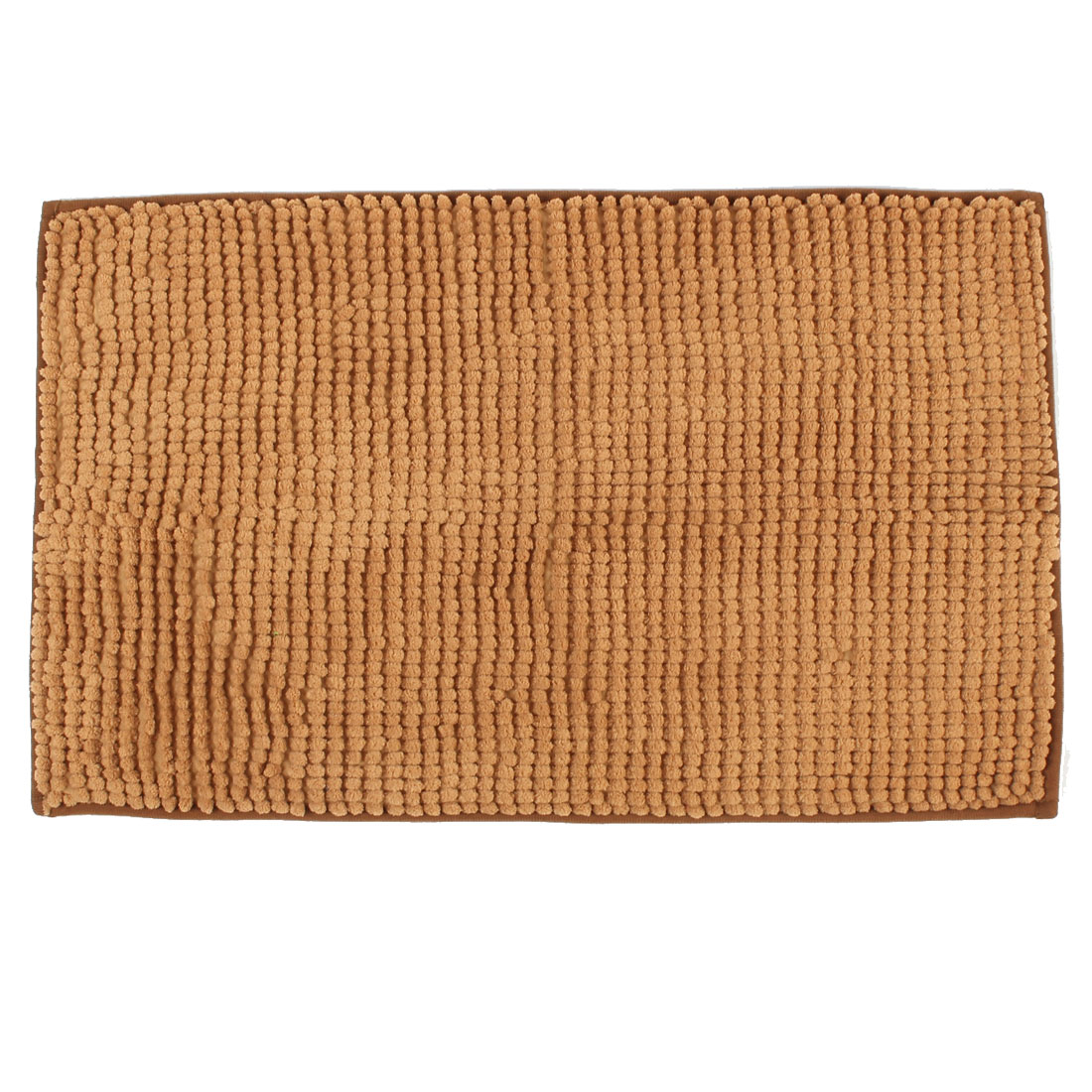 Gym Bathroom Home Soft Non Slip Absorbent Shower Bath Mat Rugs Light Brown 20 x 32 Inch