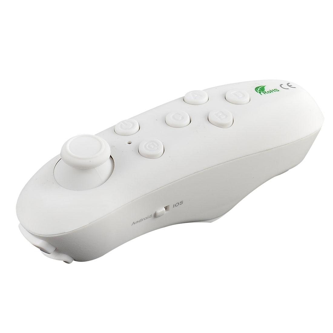 Universal Portable VR Glasses bluetooth Game Remote Control Handle White