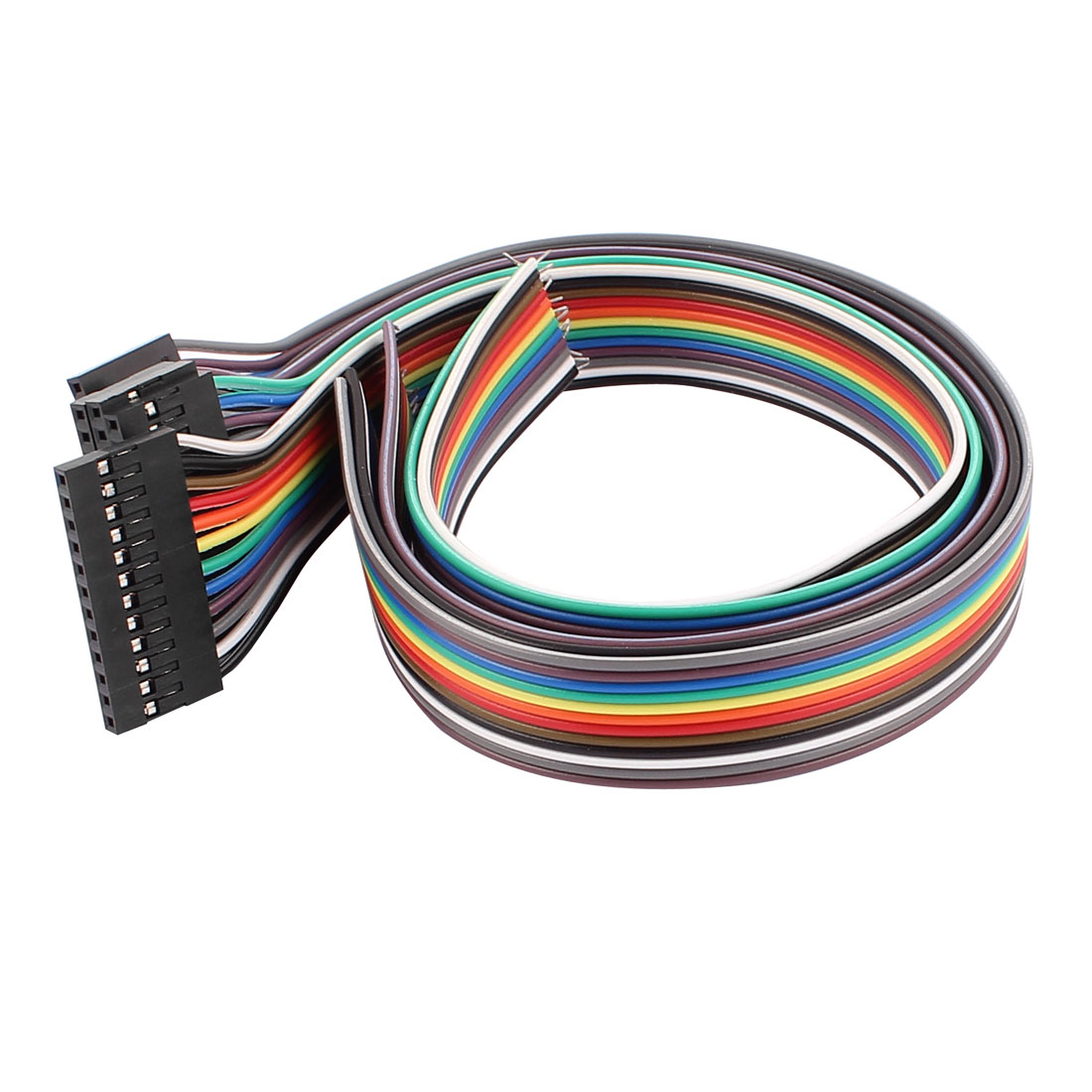 5 Pcs 12P Jumper Wires Female Ribbon Cables Pi Pic Breadboard 30cm Long