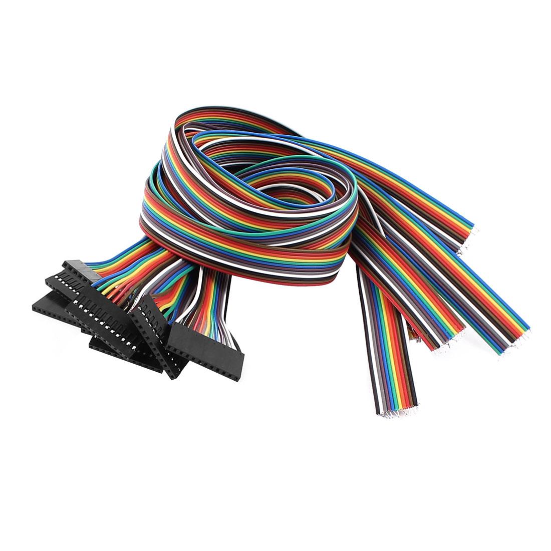 10 Pcs 12P Jumper Wires Female Ribbon Cables Pi Pic Breadboard 50cm Long