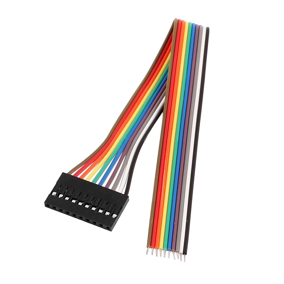 Female 10P Jumper Wire Ribbon Cable Pi Pic Breadboard DIY 20cm Long