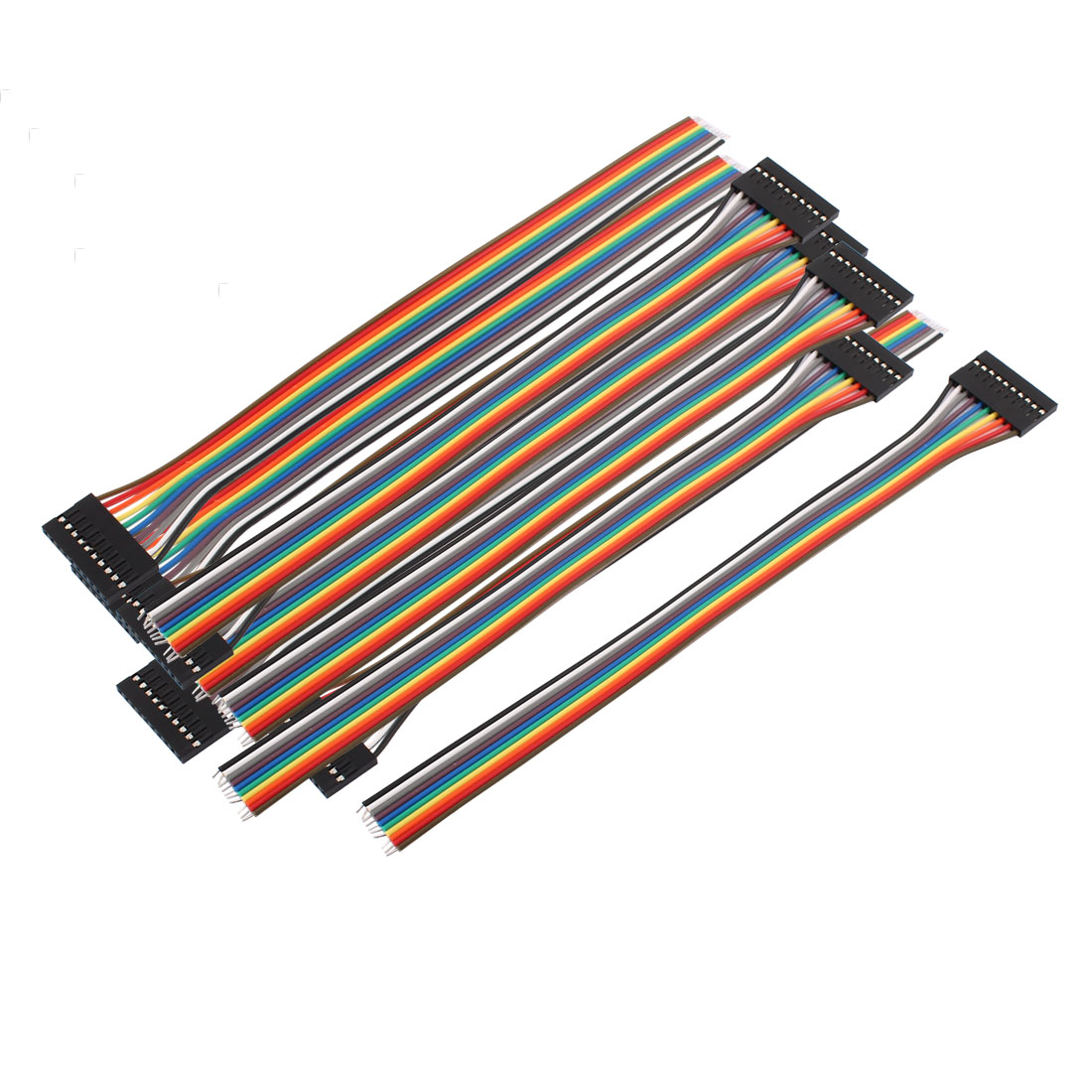 10 Pcs 10P Jumper Wires Female Ribbon Cables Pi Pic Breadboard DIY 20cm Long