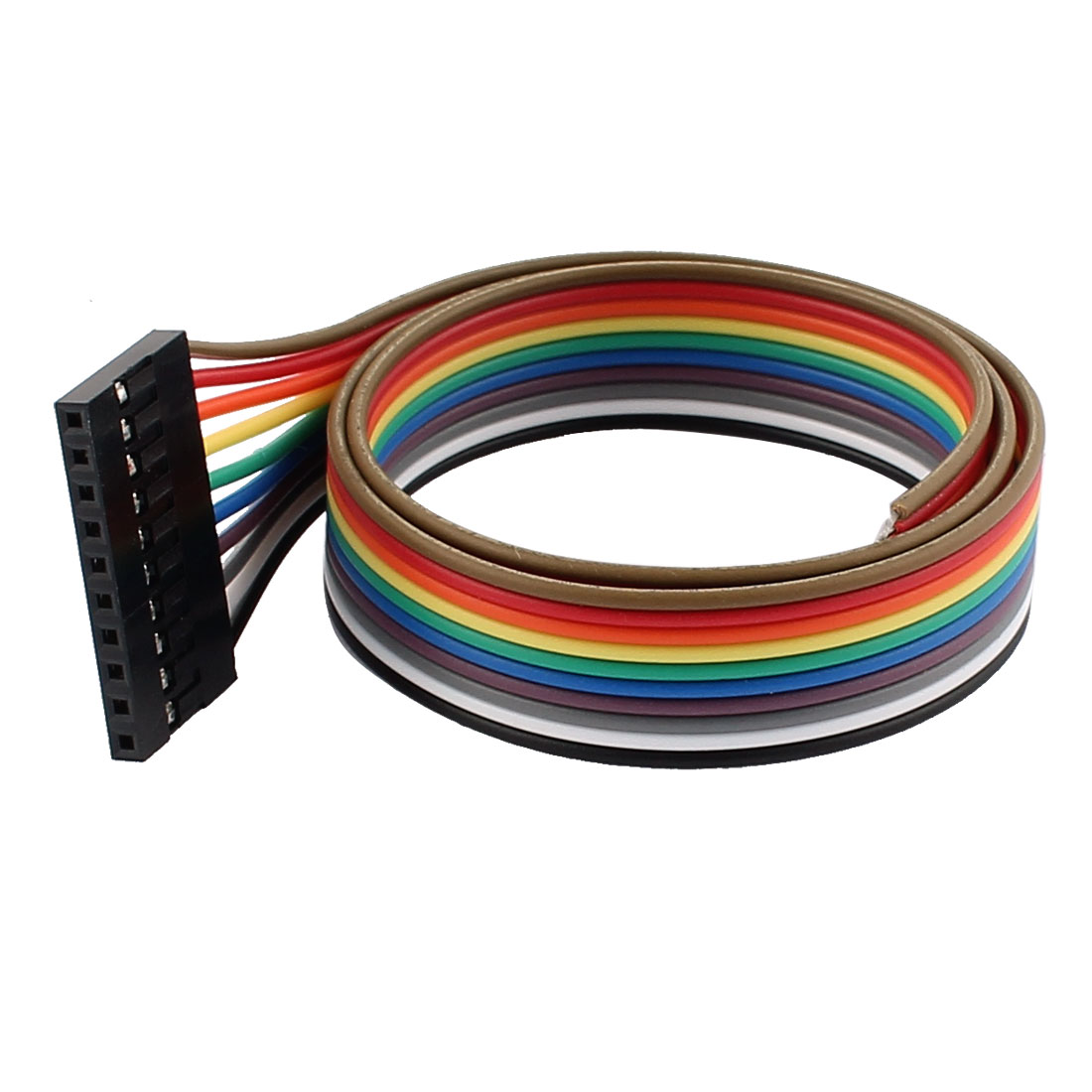 Female 10P Jumper Wire Ribbon Cable Pi Pic Breadboard DIY 40cm Long