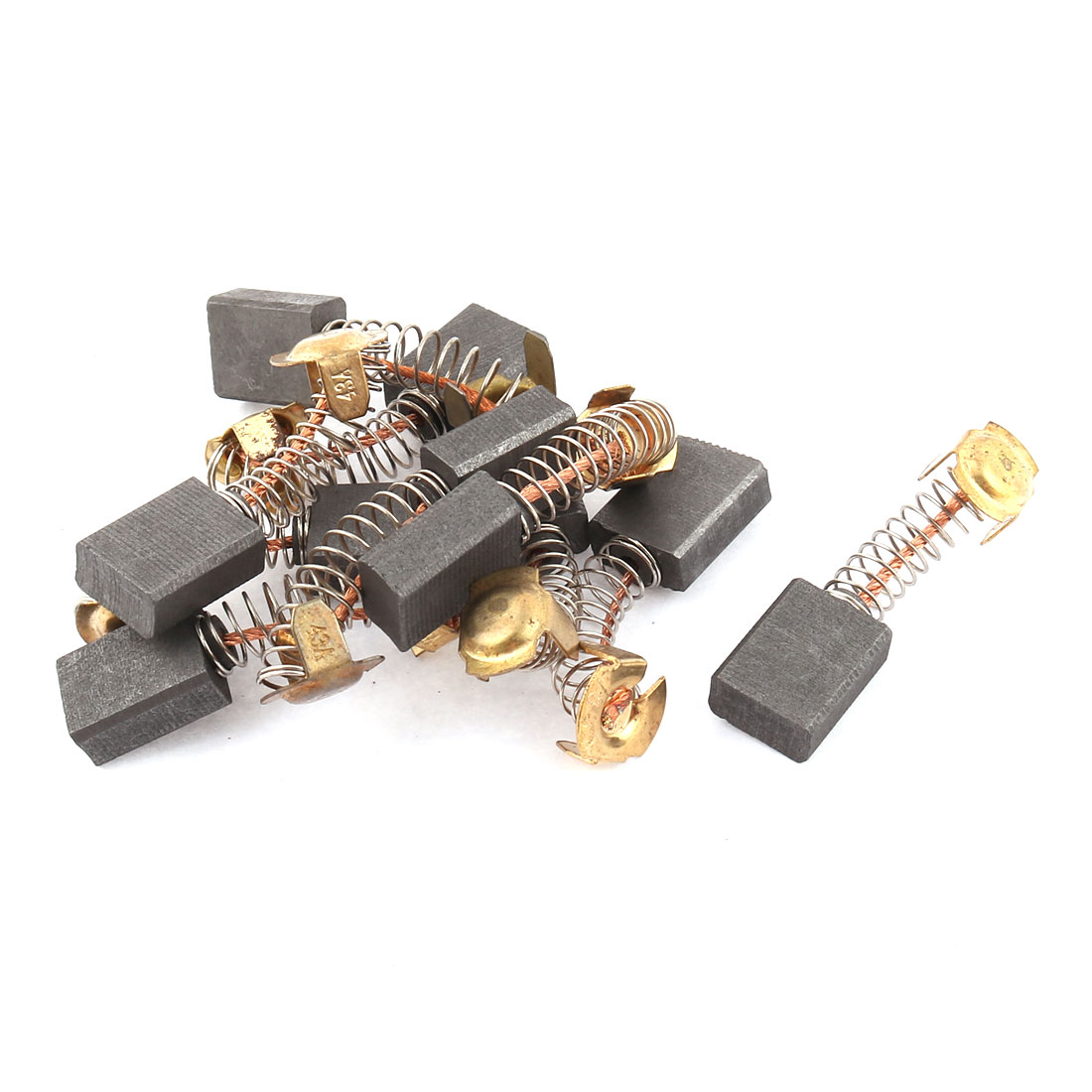 10Pcs Replacement Carbon Brushes 16mm x 13mm x 7mm for Generic Electric Motor