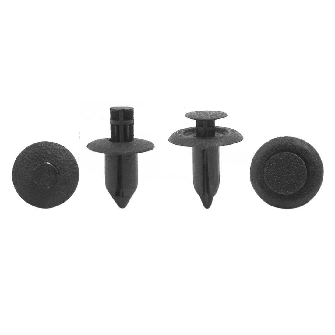 Universal 6mm 8mm Hole Plastic Trim Clips Car Bumper Door Rivets Fastener 20 Pcs