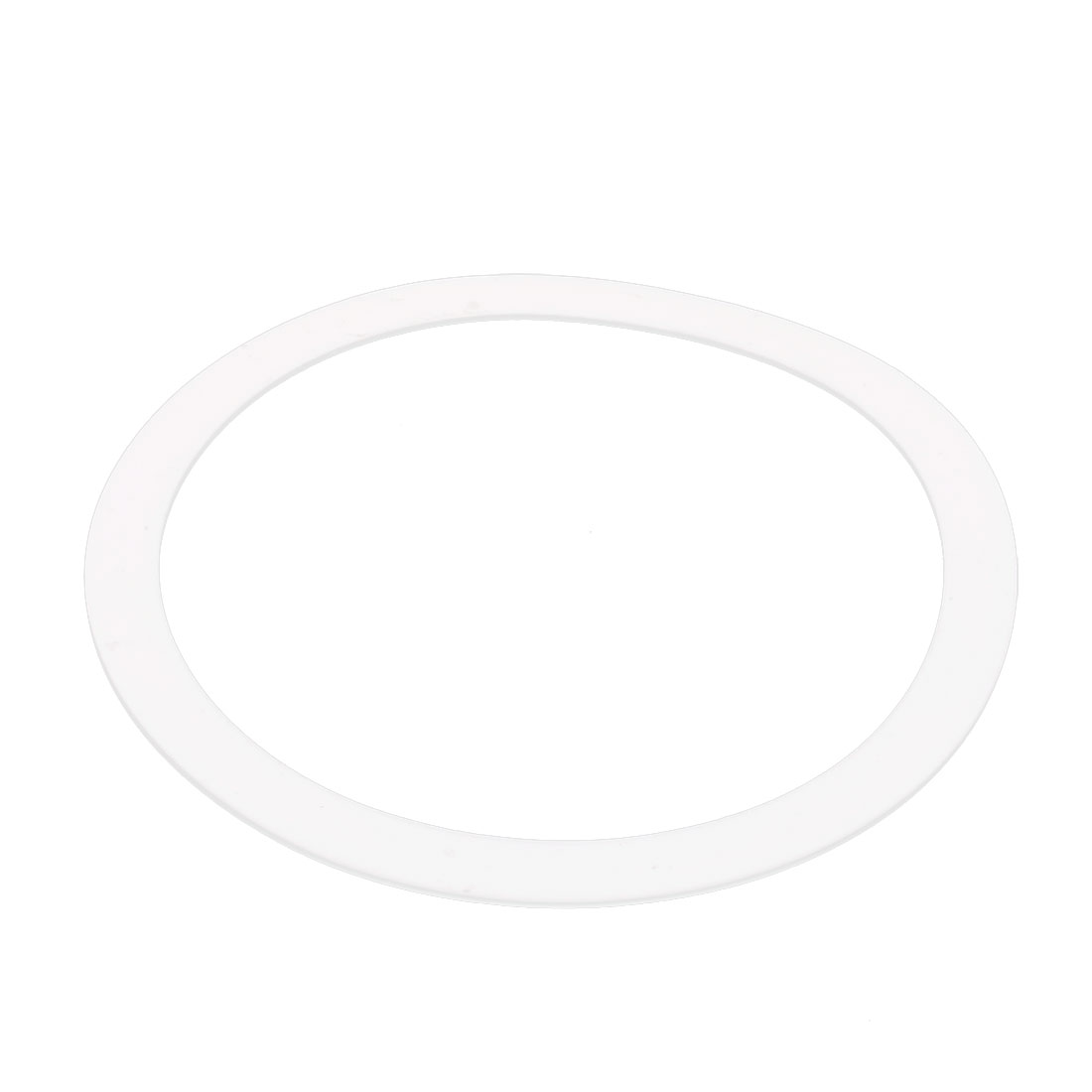 DN250 320mm x 273mm x 3mm PTFE Flange Gasket Sanitary Pipe Fitting Ferrule White