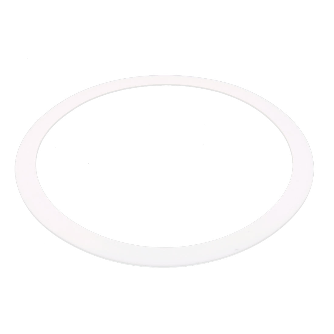 DN300 378mm x 325mm x 3mm PTFE Flange Gasket Sanitary Pipe Fitting Ferrule White