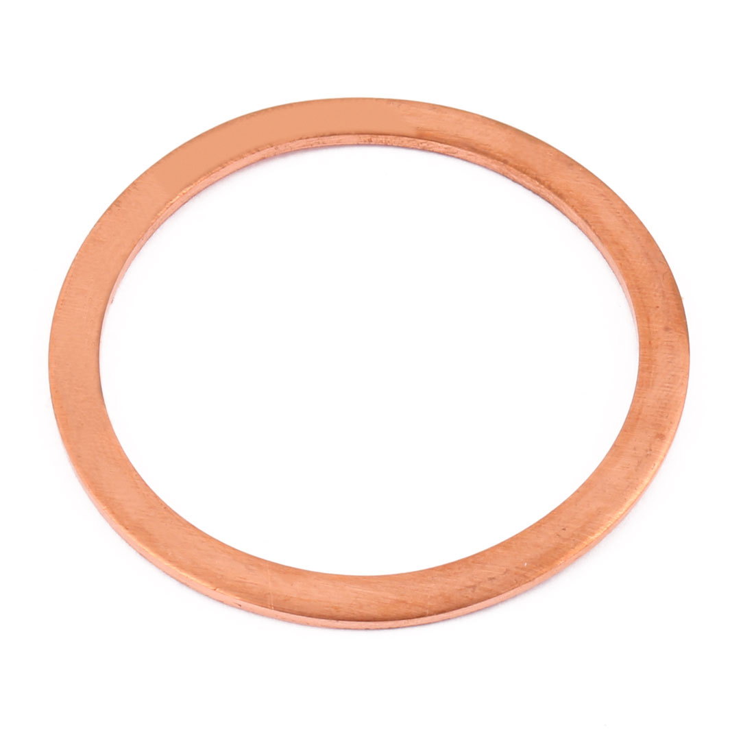 60mm x 50mm x 2mm Flat Ring Copper Crush Washer Sealing Gasket Fastener