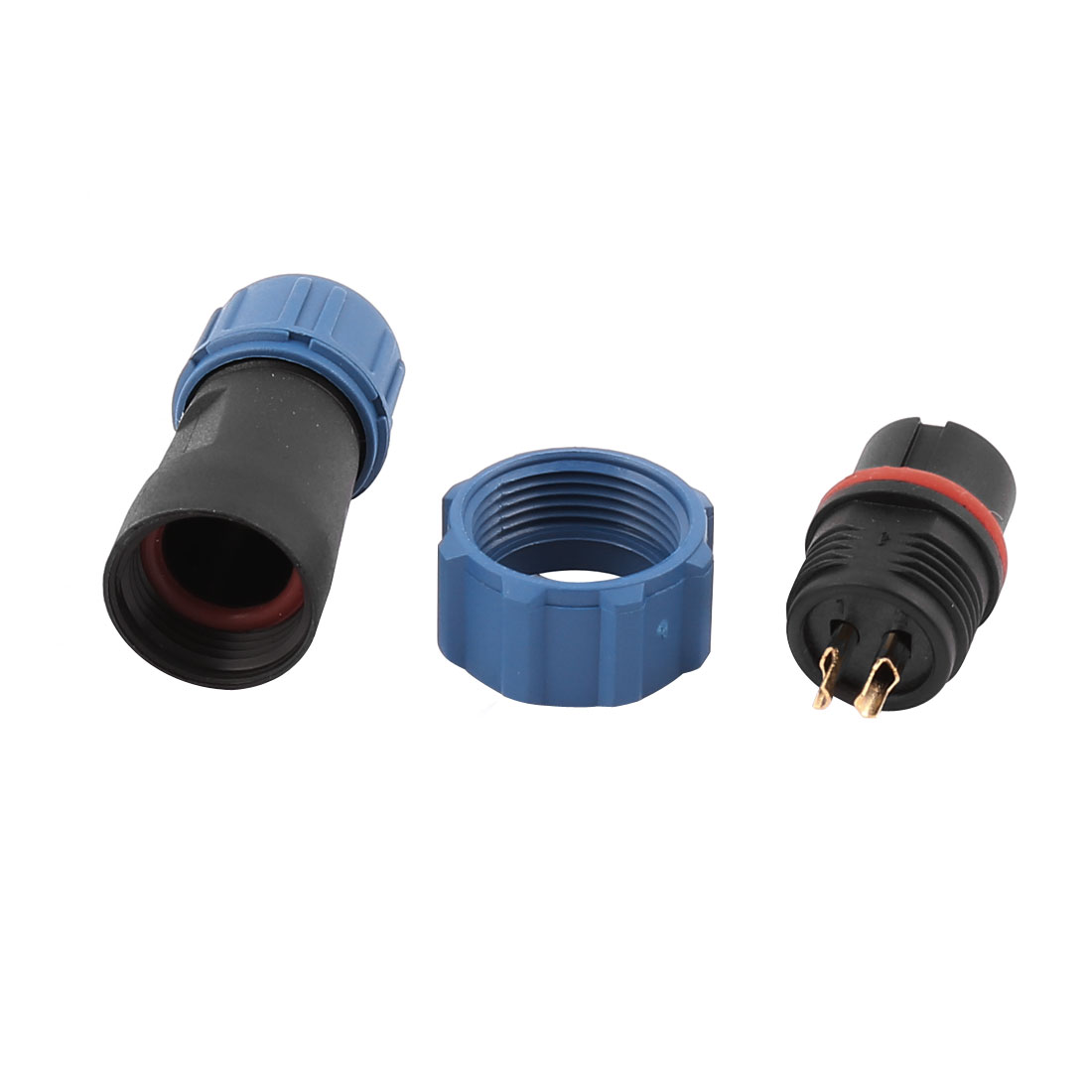 AC 250V 2 Terminals SP1310/P Waterproof Aviation Dustproof Adapter Connector