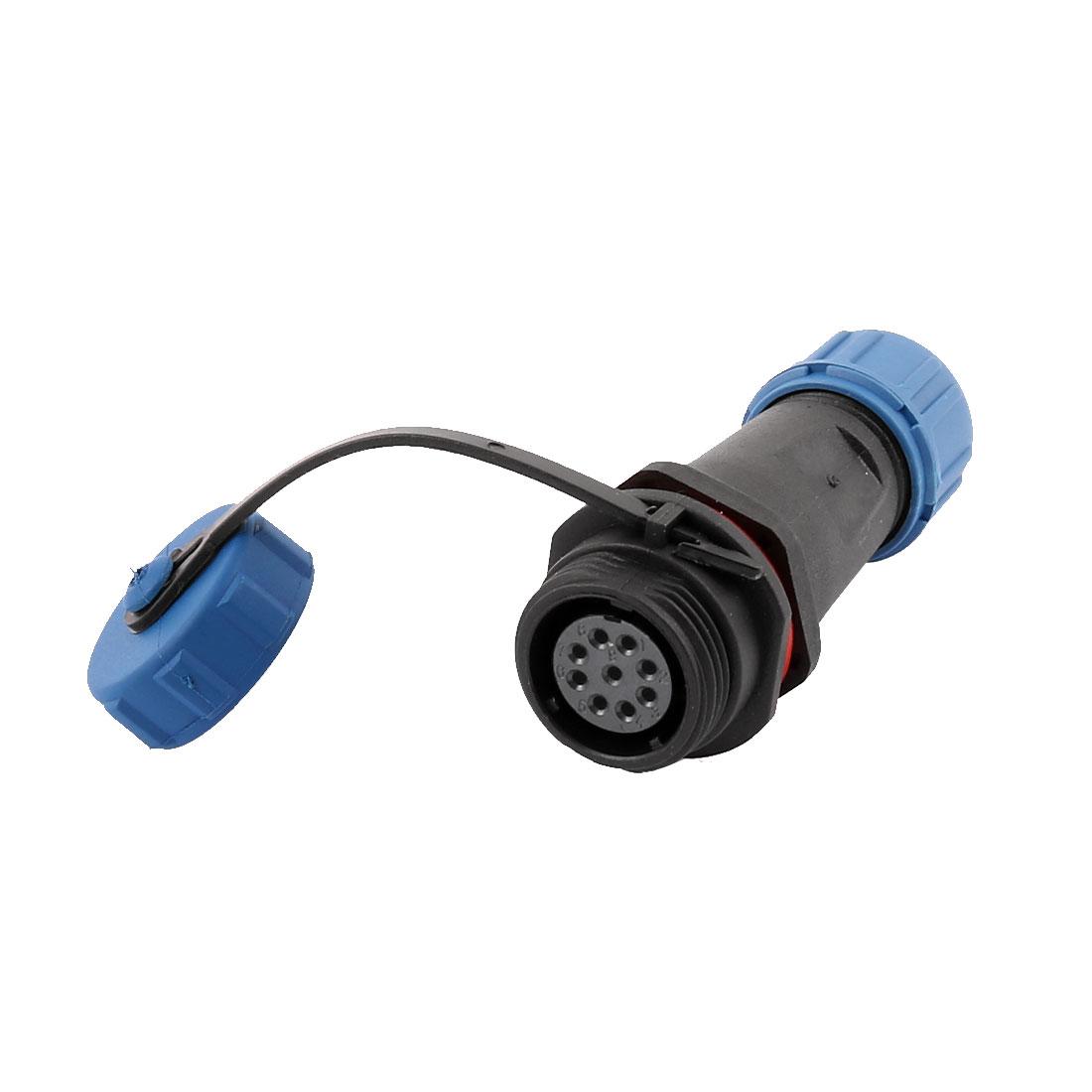 AC 500V 6 Terminals SP1311/S Waterproof Aviation Socket Dustproof Adapter Connector