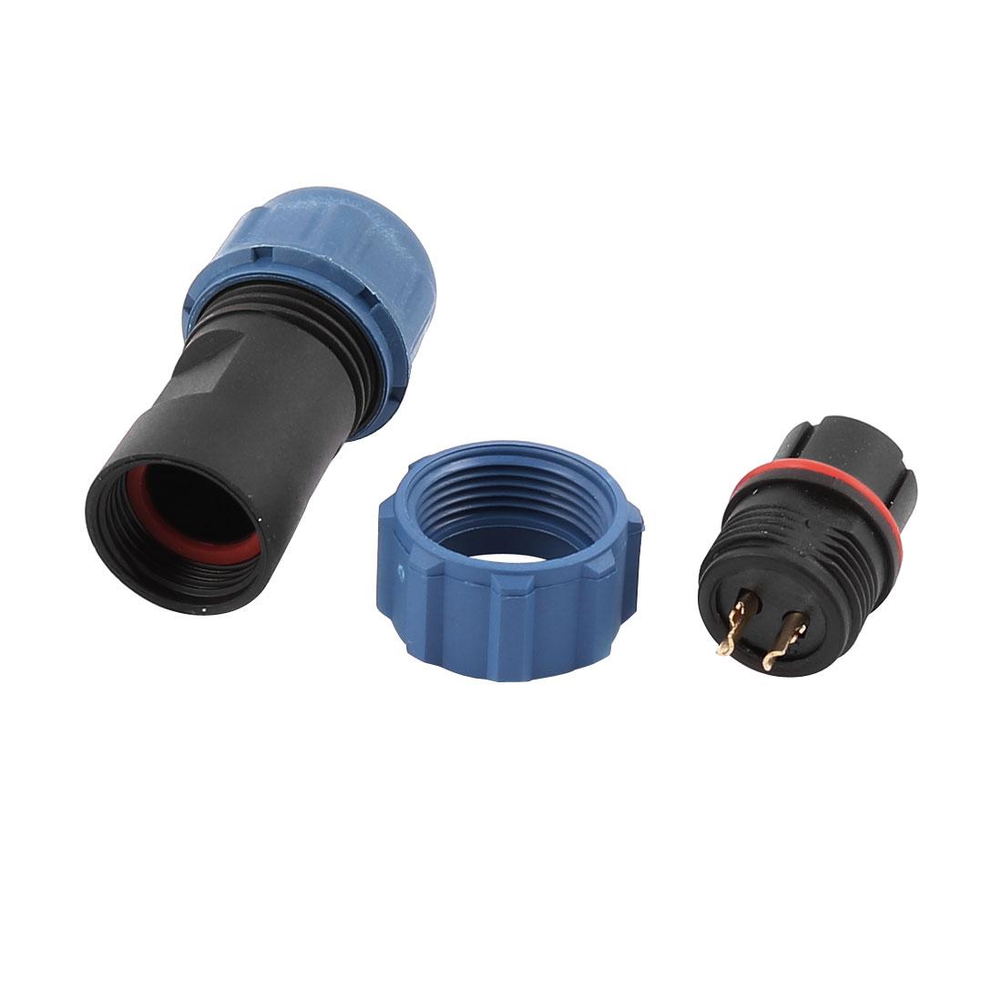 AC 250V 2 Poles SP1310/S Waterproof Aviation Socket Dustproof Adapter Connector
