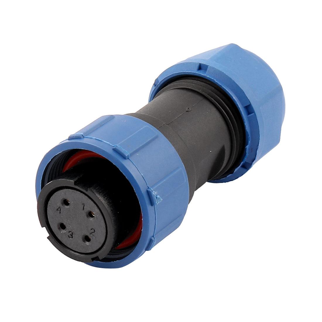 AC 500V 4 Poles SP1710/S Waterproof Aviation Socket Dustproof Adapter Connector