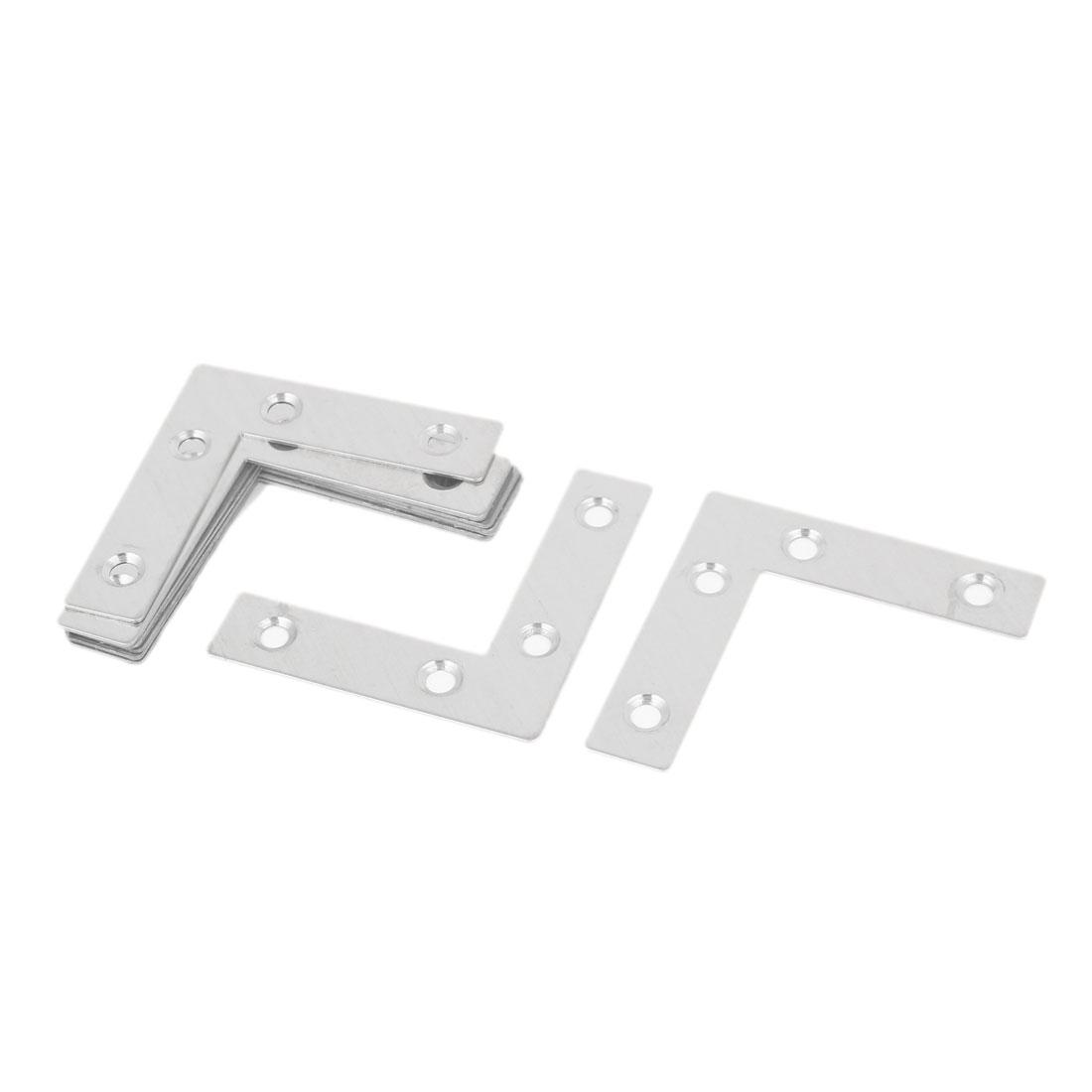 60mm x 60mm Angle Bracket Corner Brace L Shape Mending Repair Plate 10PCS