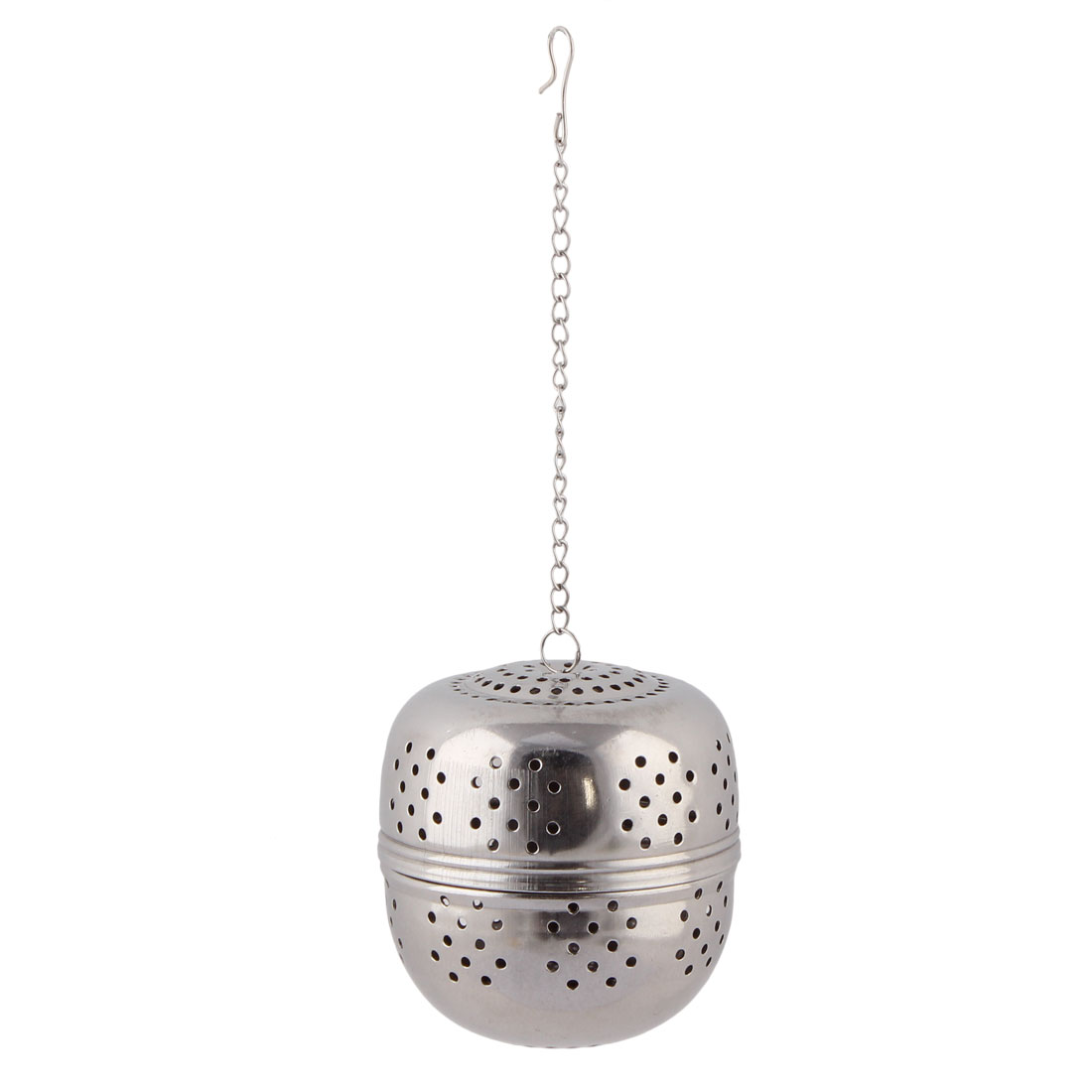 Kitchen Stainless Steel Loose Leaf Tea Spice Perfume Infuser Strainer Ball 4.5cm Dia