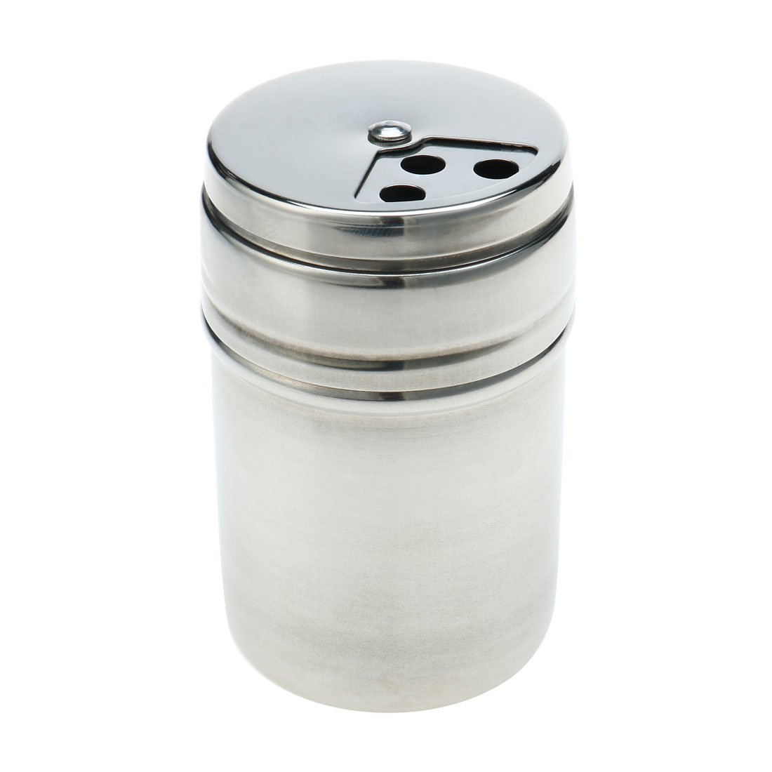 """Kitchenware Metal Adjustable Rotating Spice Pepper Shaker Seasoning Cans Condiment Box 2"""" Dia"""