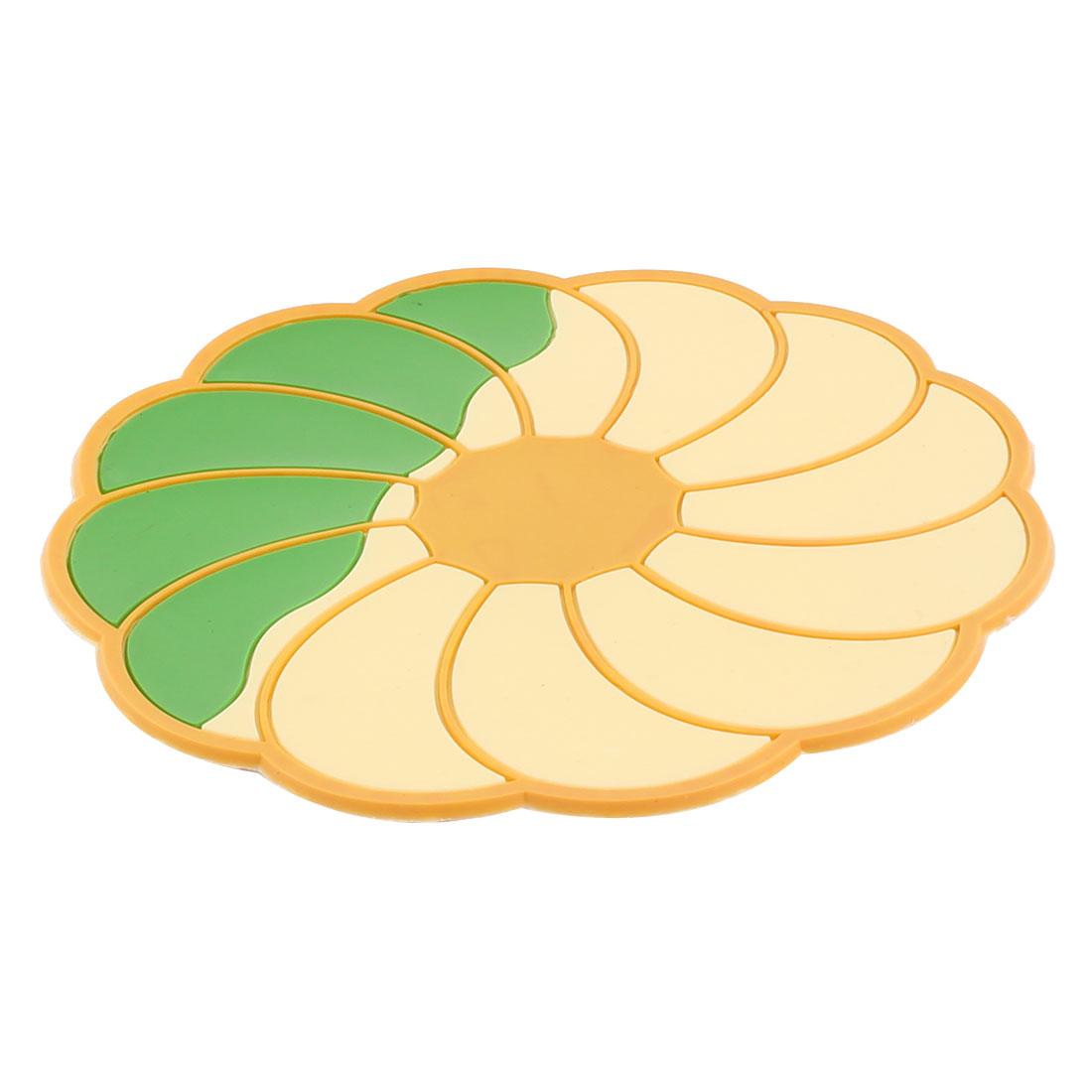 Restaurant Kitchen Flowers Shaped Non-Slip Heat Resistant Insulation Coasters Placemat