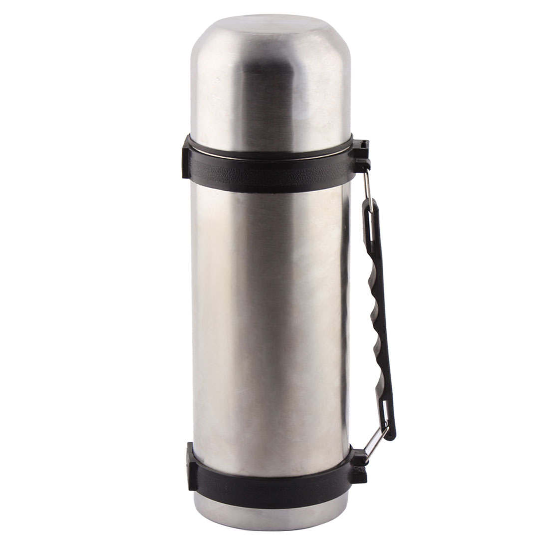 1200ml Capacity Plastic Handle Stainless Steel Thermal Vacuum Travel Water Mug Cup