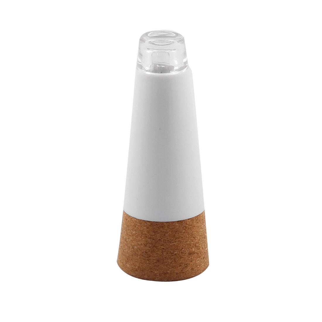 USB Powered LED Lamp Nightlight Stopper Decor Empty Wine Bottle White Light