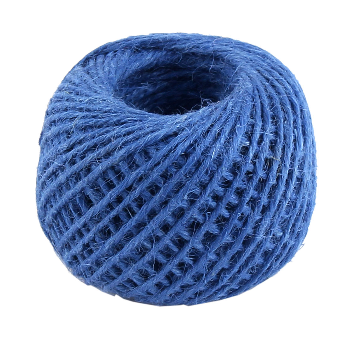 Jute Burlap Ribbon Twine Rope Cord String Wrap Roll Blue 2mm Dia 50m Length