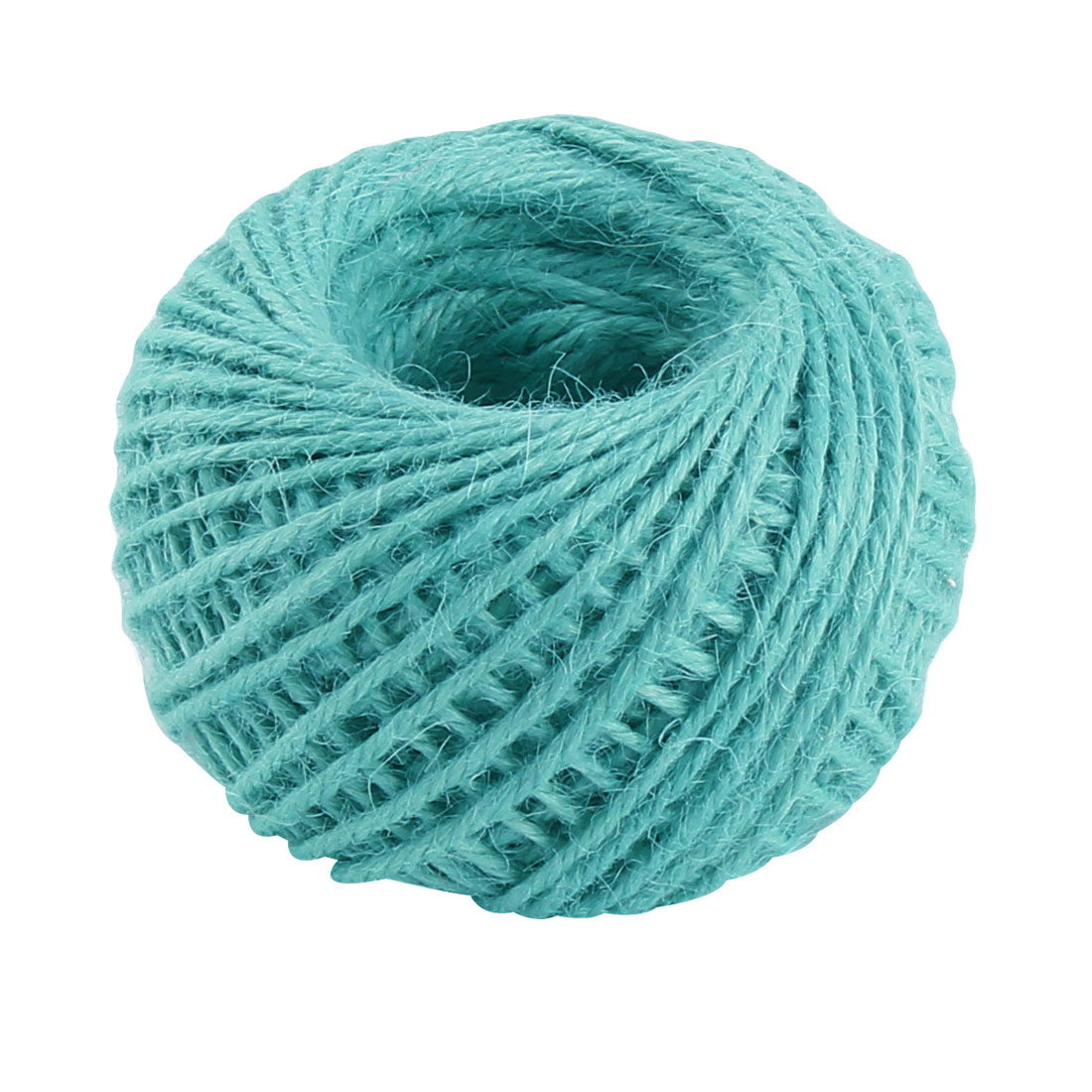 Craft Jute Burlap Ribbon Twine Rope Cord String Pack Roll Turquoise 2mm Dia 50m Length