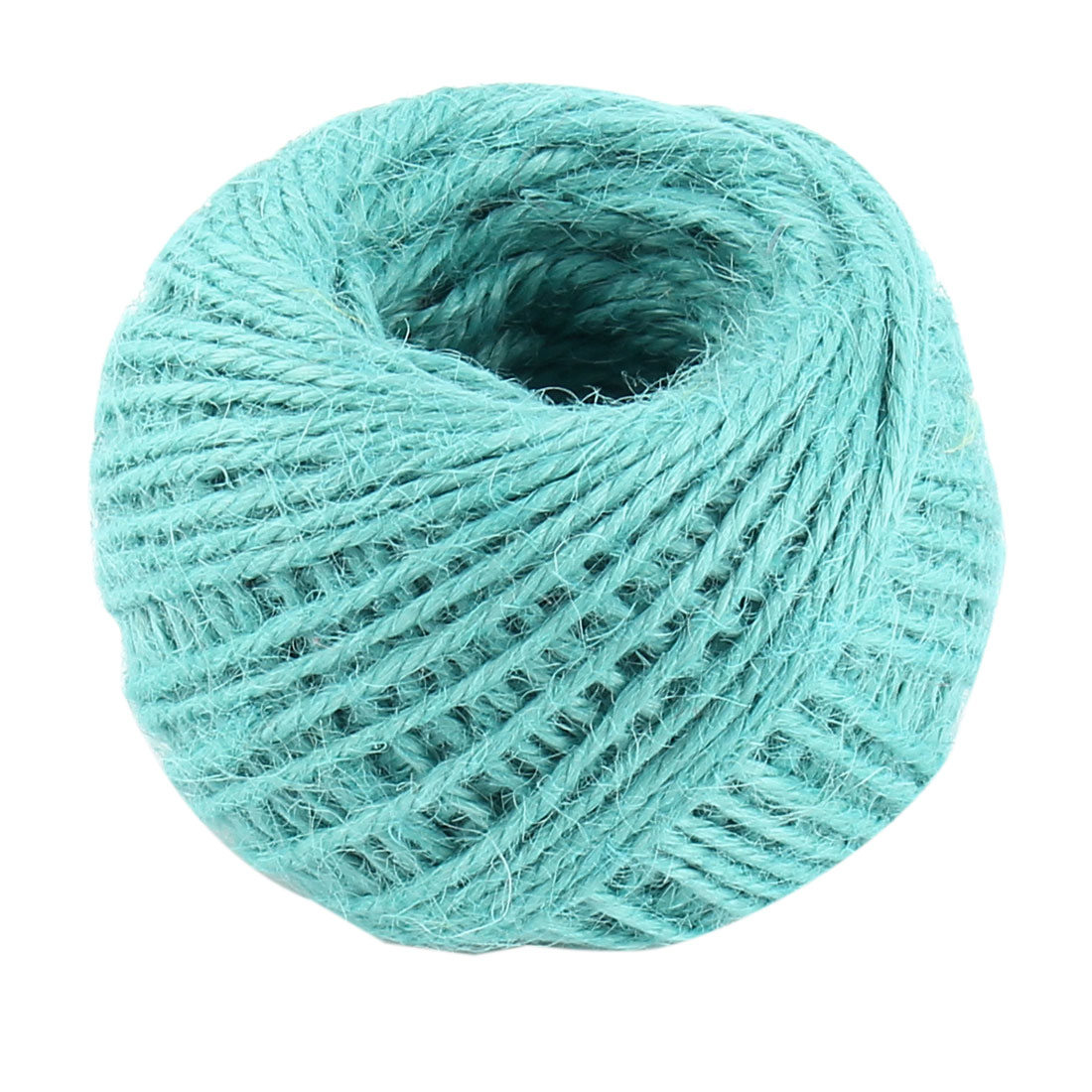 Craft Jute Burlap Ribbon Twine Rope Cord String Pack Roll Sky Blue 2mm Dia 50m Length