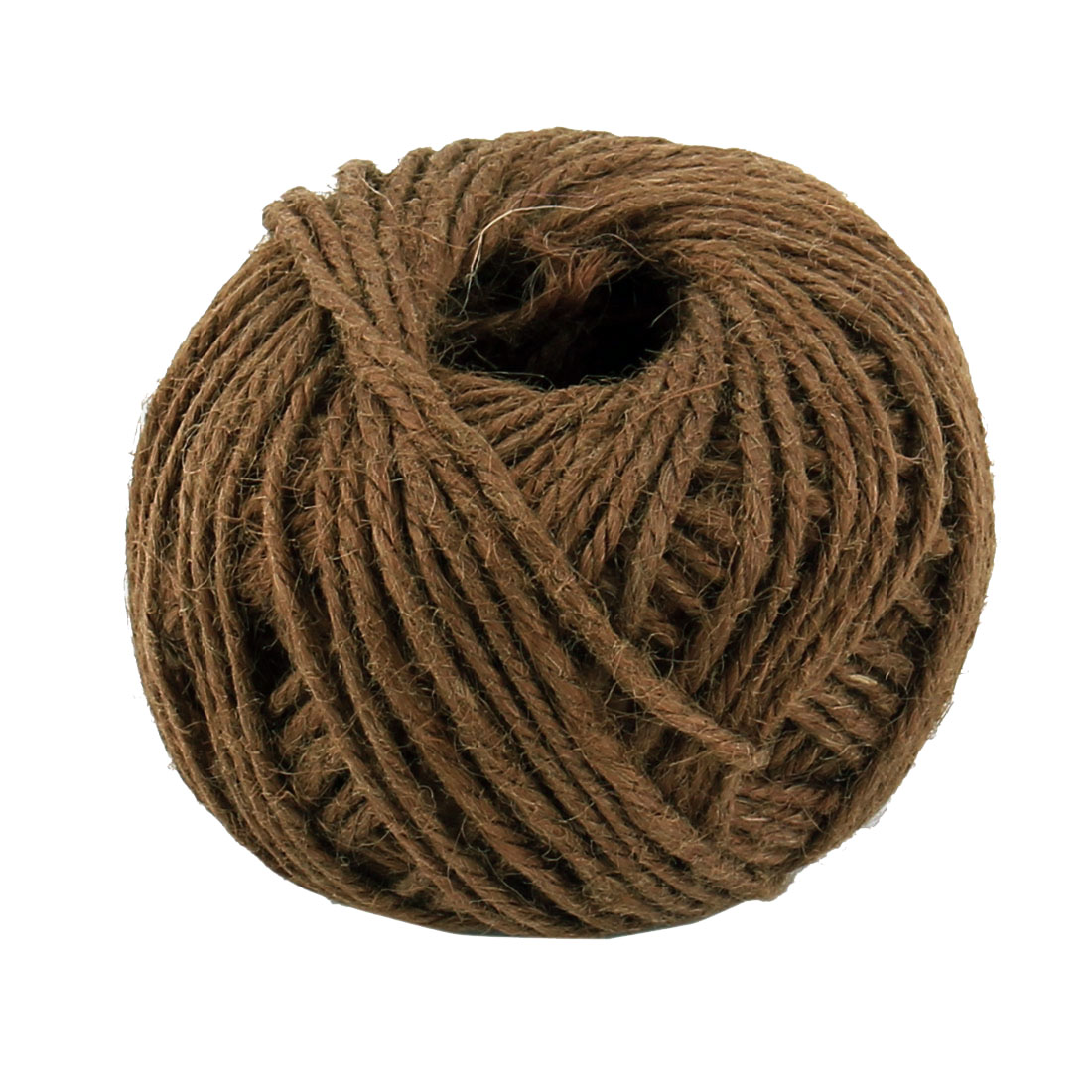 Jute Burlap Ribbon Twine Rope Cord String Wrap Roll Coffee Color 2mm Dia 50m Length