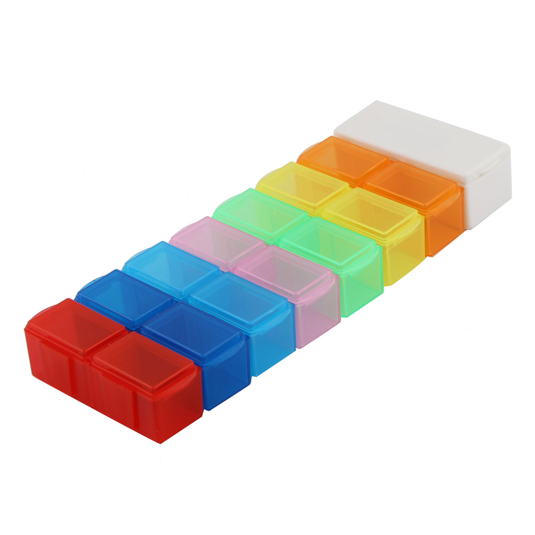 Home Medicine Dispenser Distribution Pill Organizer Holder Case Tablet Box