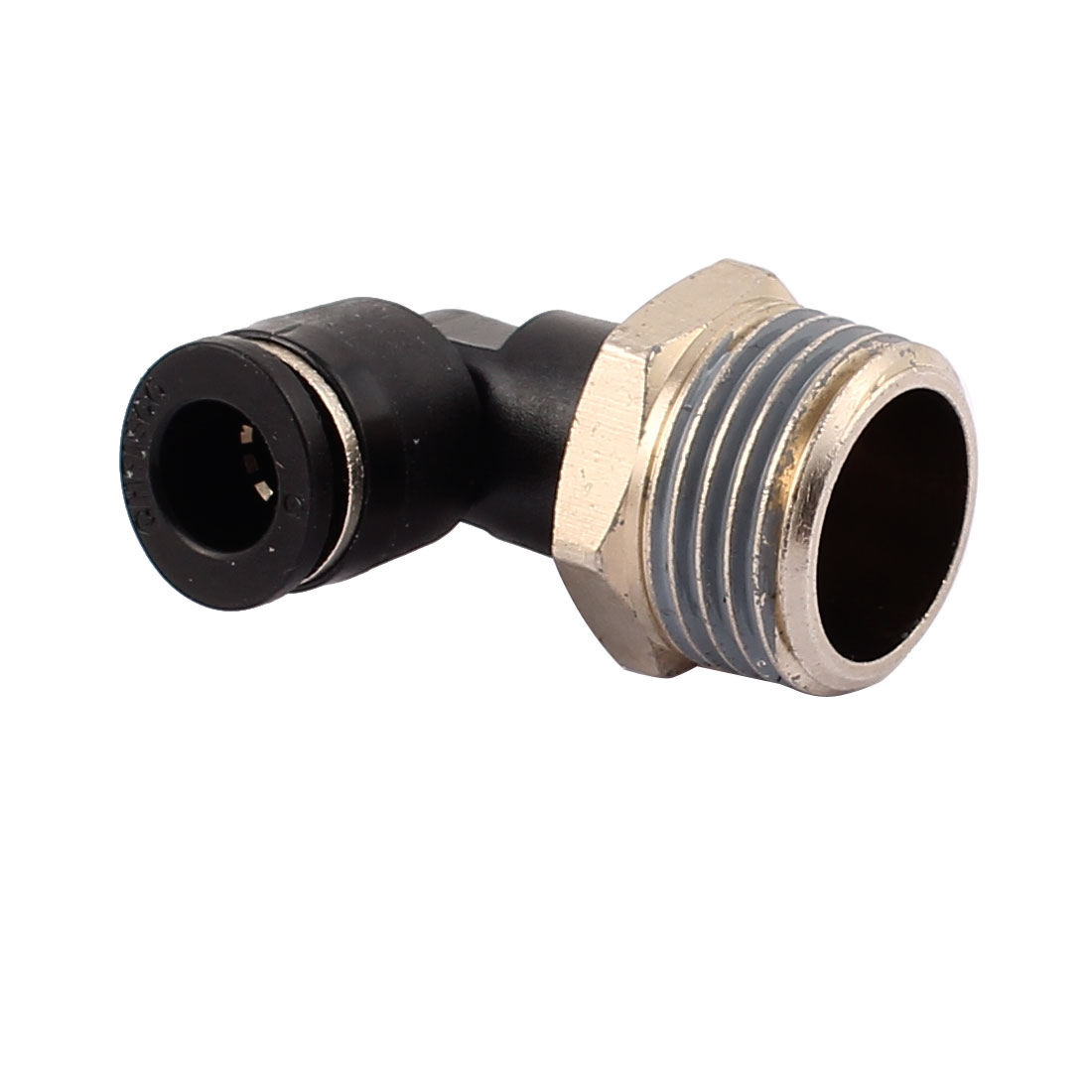 """1/2"""" Male Thread to 8mm Push in Tube L-Shaped Elbow Air Pneumatic Quick Fittings"""