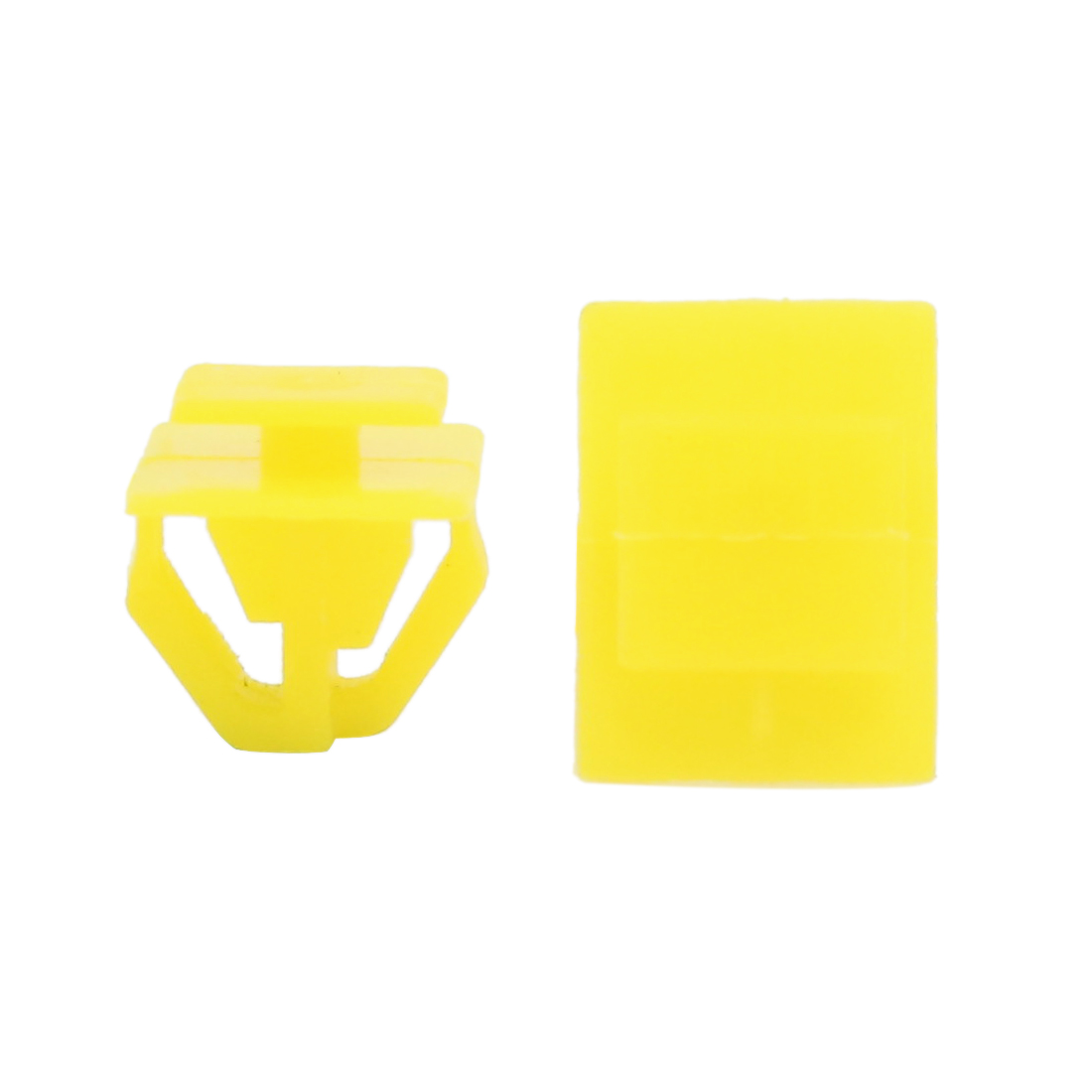 50Pcs 14mm Hole Yellow Car Plastic Trim Door Panel Retainer Clips Rivet Fastener