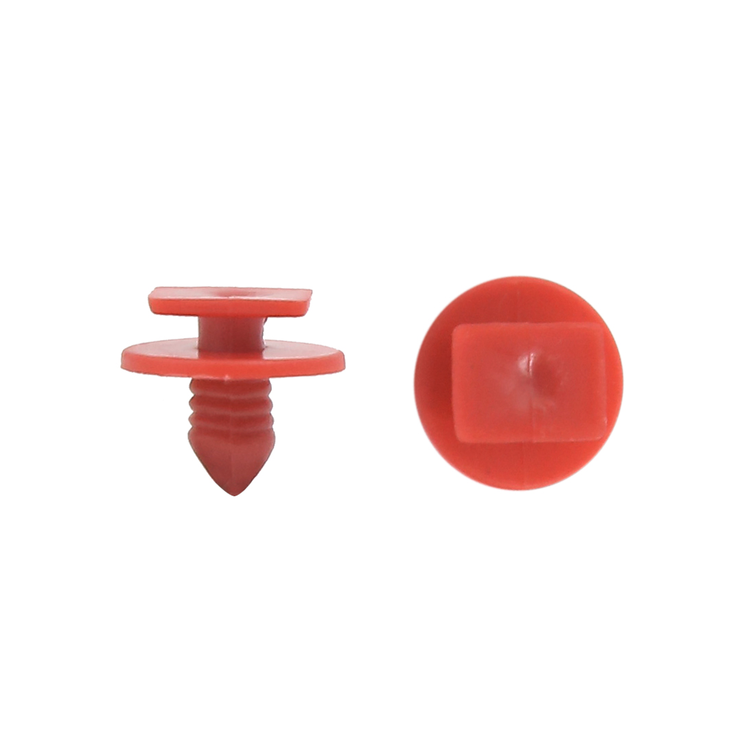 50Pcs 14mm Dia Push Clips Plastic Rivets Fastener for Car Auto Fender Bumper