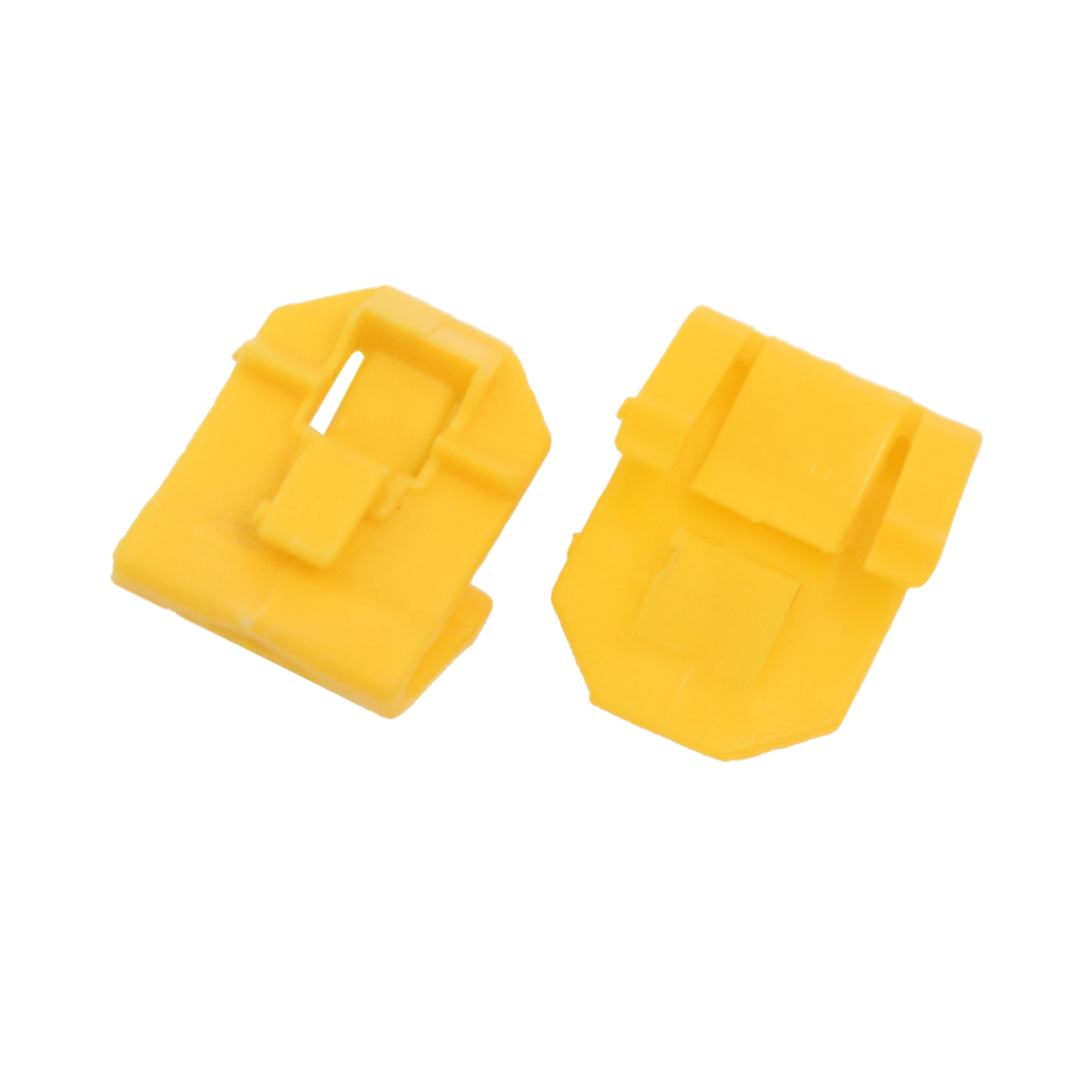 50PCS Yellow Auto Car Plastic Fastener Rivets Trim Instrument Panel Dashboard