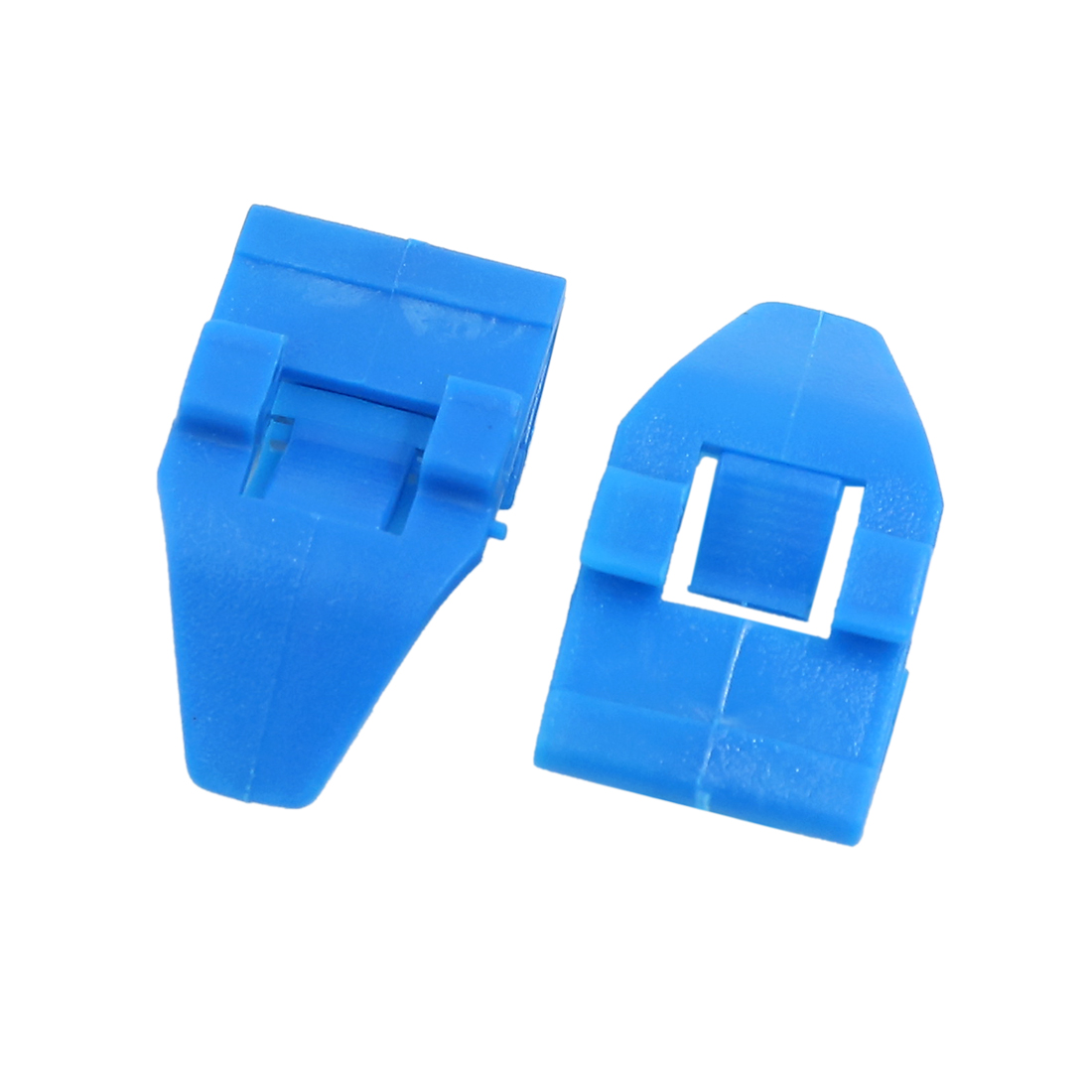 100Pcs Blue Auto Vehicle Dash Dashboard Trim Plastic Rivet Fastener 36mm x 20mm