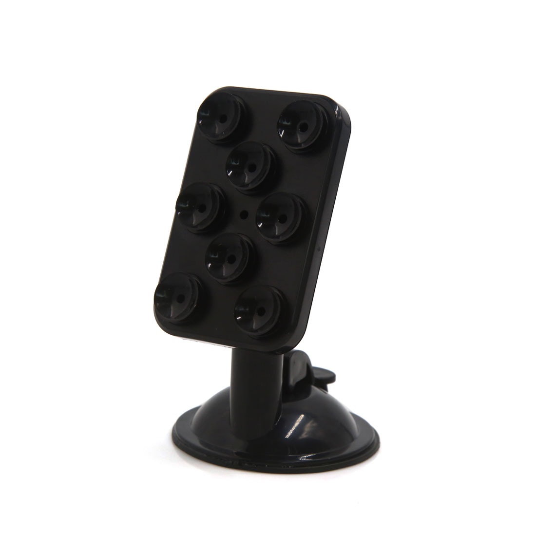 Universal Windscreen Mount 8 Suction Cups Design Phone Mobile Holder Black