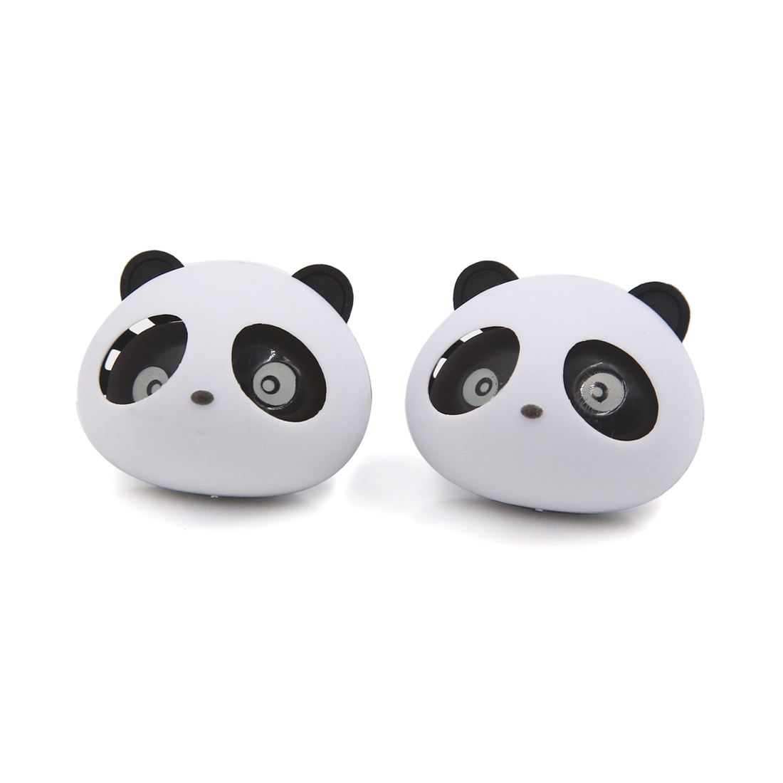 Panda Head Shaped Car Air Freshener Auto Perfume Diffuser Fragrance 2pcs
