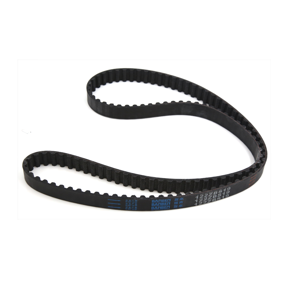 19mm Width Alternator A/C Power Steering Serpentine Toothed Timing Belt 122ZBS19 for Mitsubishi